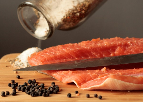 salmon and spice
