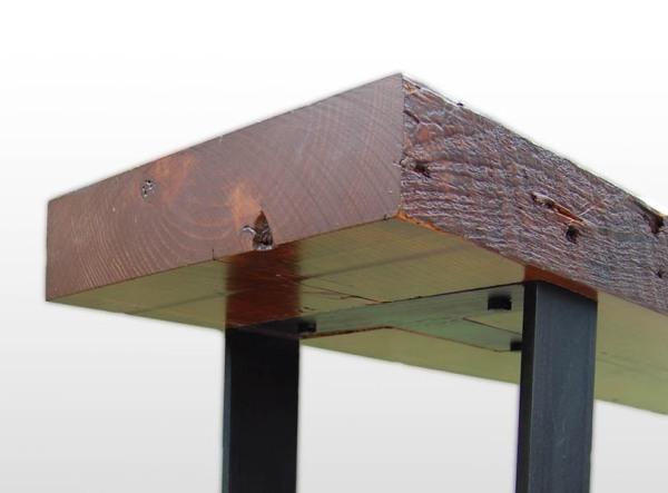 detail of joist bench